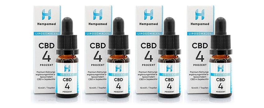 Liposomales CBD Öl von Hempamed